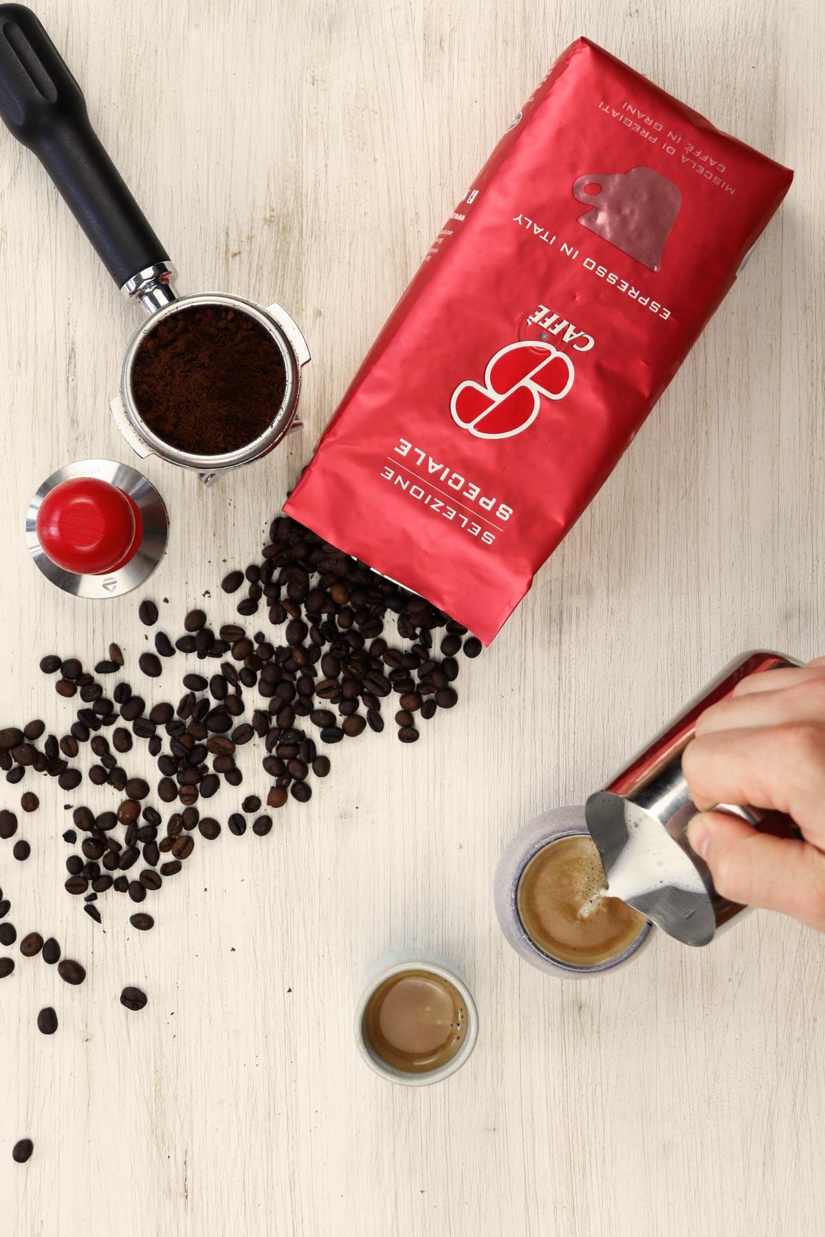 Espresso Bohnen Italiano