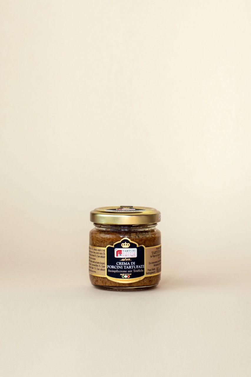 Steinpilz-Trüffelcreme aus Umbrien